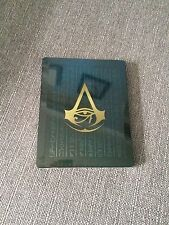 Assassins Creed Origins EXCLUSIVE STEEL BOOK ONLY - from Legendary  Edition