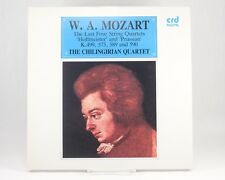 LP: W.A MOZART The Last 4 String Quartets  The Chilingirian Quartet CRD