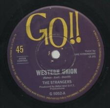 "THE STRANGERS   Rare 1967 Aust Only 7"" OOP Go Beat Rock Single ""Western Union"""