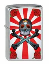 Lighter Zippo Skull Crossbones