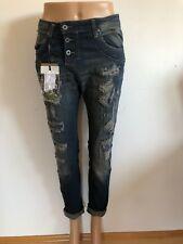PLEASE - Destroyed Jeans P47 Q in blau NEU Gr. XS 34 656n