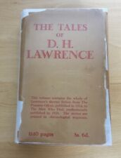 The Tales Of  D.H. Lawrence, D.H. Lawrence, Martin Secker, 1934,