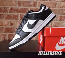 Size 10 - Nike Dunk Low Black White - DD1391-100