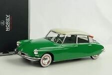 1 18 NOREV Citroen DS 19 1956 Green/creme