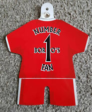 "Middlesbrough Car/Bedroom Window Hanger ""Boro's Number 1 Fan"""