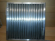 "Fn2020 Fire Fighter S/S Grease Hood Filter 20"" x 20"""