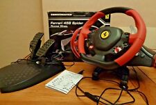 THRUSTMASTER Ferrari 458 Spider Racing Steering Wheel with Pedals - Xbox One