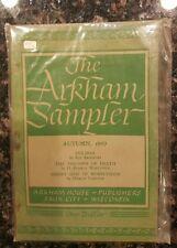THE ARKHAM SAMPLER (Autumn 1949/August Derleth, editor/1st US, *sealed in bag*