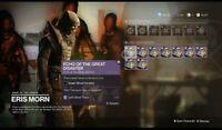 Destiny2 Shadowkeep Eris Moon all weekly Powerful Gear ( PS4)