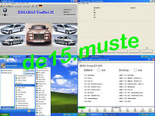 BMW Diagnose Software Ediabas INPA NCS Expert Windows 64 - 32 bit DE Version DVD