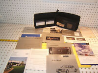 Mercedes 1995 W124 E320 E420 Owner's Manuals 1 set of 14 & Leather OEM 1 Case