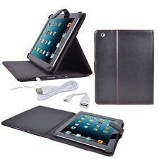 Digital Treasures Props Leatherette Folio Case & 8000mAh Power Bank for iPad 2-4
