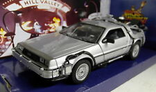 Welly 1/24 Scale Delorean Time Machine Back to the Future part 2 model car
