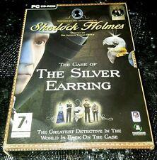 Sherlock Holmes: Silver Earring 2004 PC Game + Secret Weapon 1942 DVD Box Set