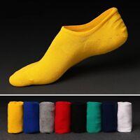 1 Pair Men's Ankle No Show Casual Sport Cotton Pure Color Sock Low Cut size 6-11