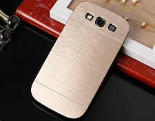 Luxury Gold Metal Brushed Hard Slim Case Cover For Samsung Galaxy S3 III I9300