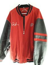Allen Iverson Vintage Limited Edition Varsity Jacket Red Black The Answer 3XL