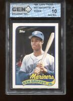 Ken Griffey Jr. RC 1989 Topps Traded #41T Mariners GEM MINT 10
