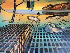SALVADOR DALI DISINTEGRATION OF THE PERSISTENCE OF MEMORY Giclee ON CANVAS 61/95