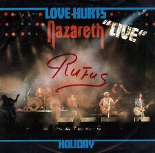 "7"" Nazareth – Love Hurts (Live) / Holiday // Dutch 1981"