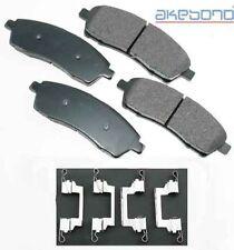 Rr Ceramic Brake Pads  Akebono  ACT757