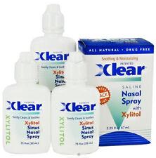 Xlear Nasal Spray w/ Xylitol  - 3 PACK