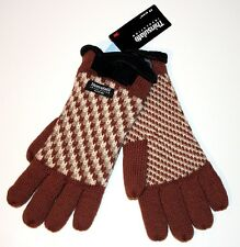 THINSULATE Insulation 40 Gram WINTER Ladie's KNITTED Gloves ACRYLIC Wool LARGE