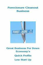 Foreclosure Cleanout Business, Brand New, Free shipping in the US