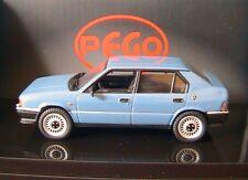 ALFA ROMEO 33 1300CC 1983 MEDIUM BLUE PEGO PG15404A 1/43 BLEU BERLINE 4 DOORS