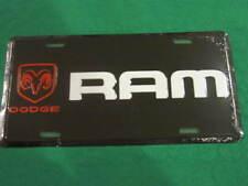 DODGE RAM METAL LICENSE PLATE TRUCK LOGO SIGNS SIGN L99