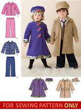 RETIRED SEWING PATTERN! MAKE COAT~JACKET~PANTS~HAT! CHILD BOY~GIRL SIZE 1/2~4