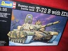 REVELL® 03077 1:35 RUSSIAN MAIN BATTLE TANK T-72 B WITH EDZ NEU OVP