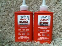 2-pack TAP MAGIC CUTTING OIL 4 oz. Spout Top Cans for Tapping Drilling Milling