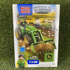 Mega Bloks - John Deere - Farm Tractor - 119 Pieces - 80840 - NEW
