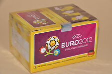 Panini EM 2012 Polen-Ukraine - Display 100 Tüten = 500 Sticker Deutsche Version