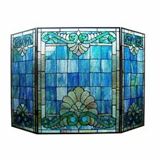 Stained Glass Fireplace Screens & Doors   eBay