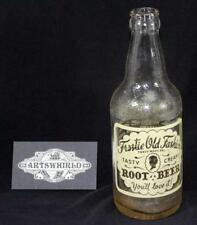 Vintage 1955 Owens Illinois Frostie Old Fashion Root Beer 12oz Soda Bottle - #9