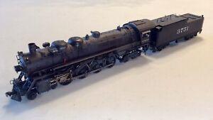 HO Santa Fe AT&SF 4-8-4 Northern 3751 Class Key Import Painted
