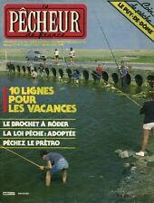 Revue le pêcheur de France No 17 Juillet-Août 1984