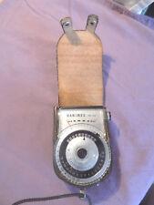 Vintage Light Meter in Case, Hanimex PR-55, made in Japan