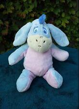 Disney EEYORE Plush with Rattle  Baby Stuffed animal Sensory Toy