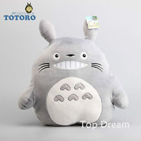 My Neighbor Totoro Plush Pillow Soft Stuffed Animal Doll 16'' Cushion Xmas Gift