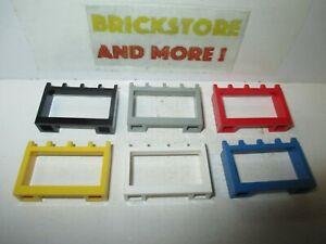 Lego - Hinge Vehicle Roof Holder 1x4x2 4214 - Choose Color & Quantity