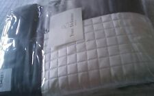 YVES DELORME COCON PLATINE BED LIGHTLY QUILTED COVERLET BEDSPREAD