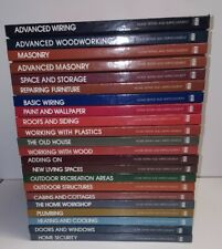 Time Life Books Home Repair and Improvement 22 Hardcover Book Lot