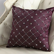 Diamond Plush Pillow Cases Sofa Waist Throw Cushion Cover Room Modern Home Decor