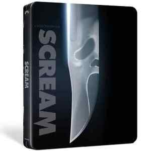 SCREAM 4K UHD COLLECTORS STEELBOOK / NEW AND SEALED /  WORLDWIDE SHIPPING