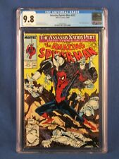 MARVEL COMICS CGC 9.8 THE AMAZING SPIDER MAN 322 10/89 WHITE PAGES
