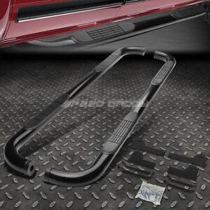 """FOR 06-09 DODGE RAM MEGA/EXT CREW CAB BLACK 3""""SIDE STEP NERF BAR RUNNING BOARD"""