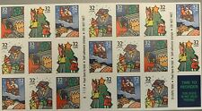1995 CHRISTMAS FAMILY SCENES STAMP BOOKLET OF 20 MNH SCOTT#3116a